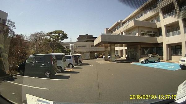 辰野町のご自宅から塩尻市の桔梗ヶ原病院へ